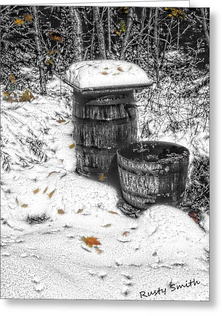 The Water Barrel Greeting Card
