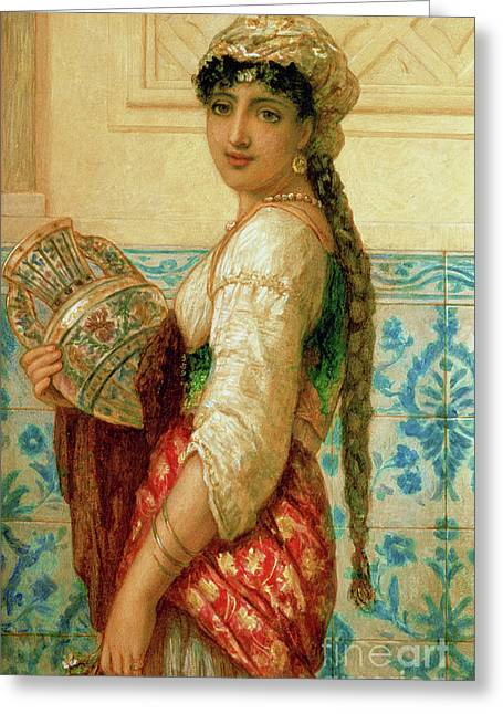 The Water Carrier Greeting Card