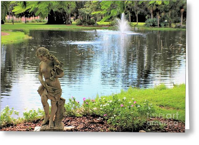 The Water Girl Greeting Card
