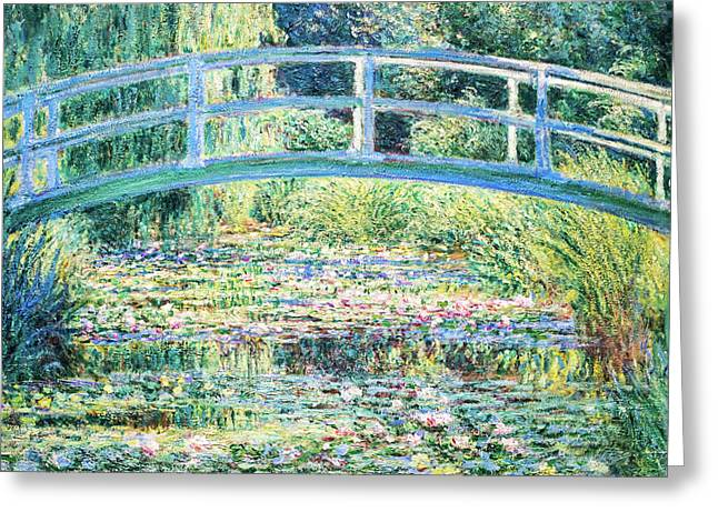 The Water Lily Pond By Monet Greeting Card