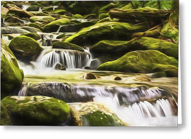 The Water Will II Greeting Card by Jon Glaser