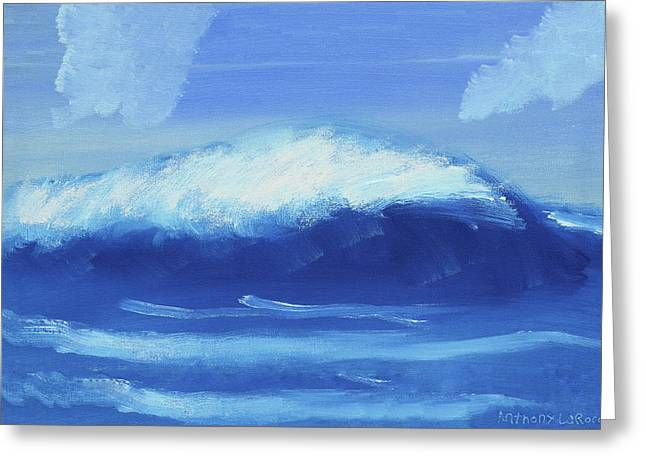 The Wave Greeting Card by Artists With Autism Inc