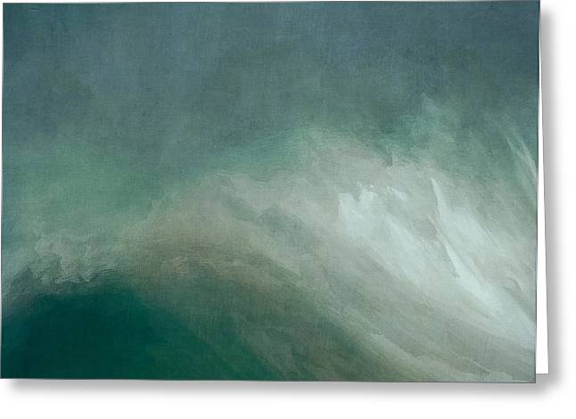 The Wave Greeting Card by Lonnie Christopher