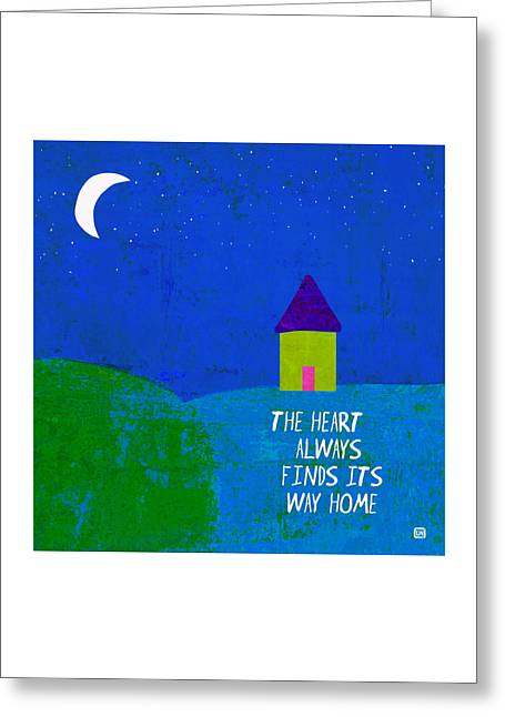 The Way Home Greeting Card by Lisa Weedn