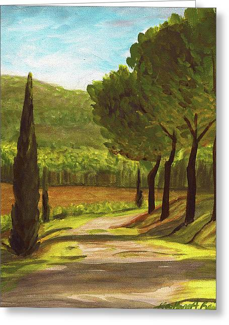 The Way Of The Olive Branch Greeting Card