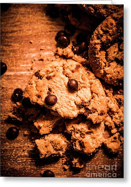 The Way The Cookie Crumbles Greeting Card by Jorgo Photography - Wall Art Gallery
