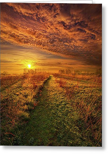 The Way The Truth And The Life Greeting Card by Phil Koch
