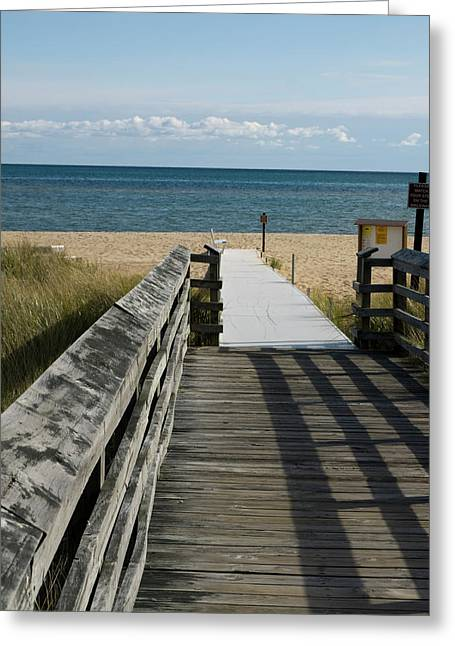 Greeting Card featuring the photograph The Way To The Beach by Tara Lynn