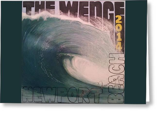 The Wedge 2014 Greeting Card
