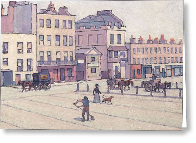 The Weigh House, Cumberland Market Greeting Card