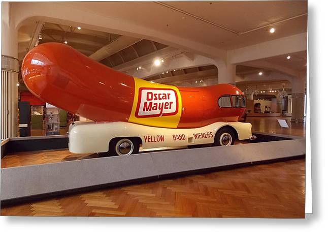 The Weinermobile 1 Greeting Card