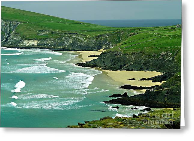 The West Coast Of Ireland Greeting Card by Patricia Griffin Brett