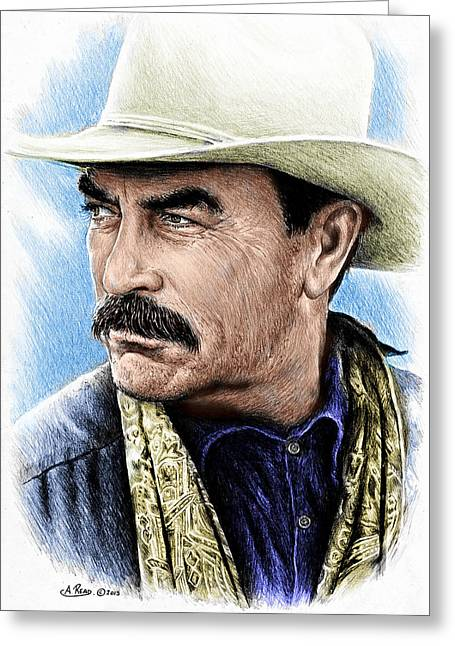 The Western Collection Monty Walsh Greeting Card