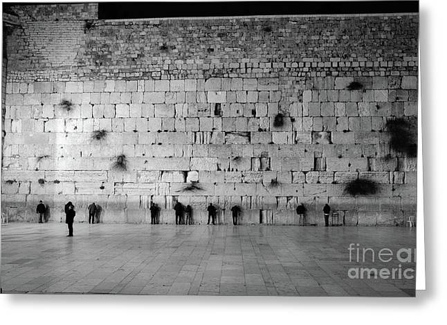 The Western Wall, Jerusalem 2 Greeting Card