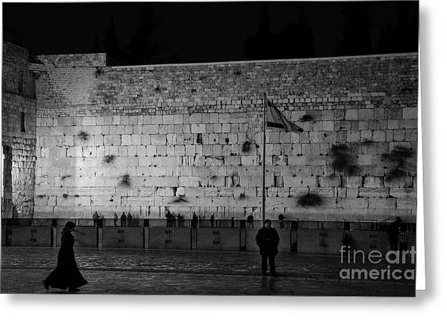 The Western Wall, Jerusalem Greeting Card