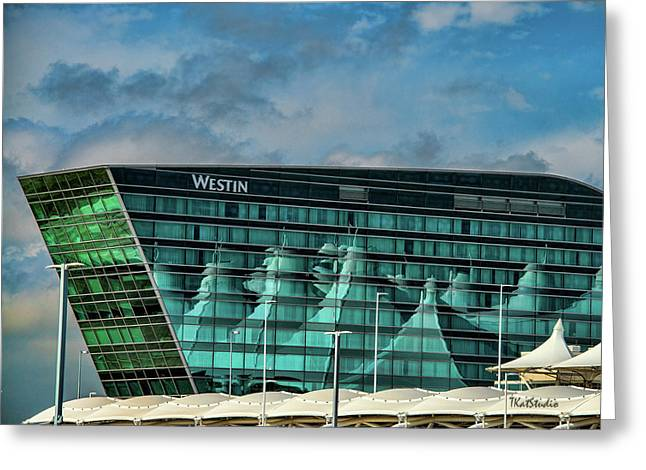 The Westin At Denver Internation Airport Greeting Card