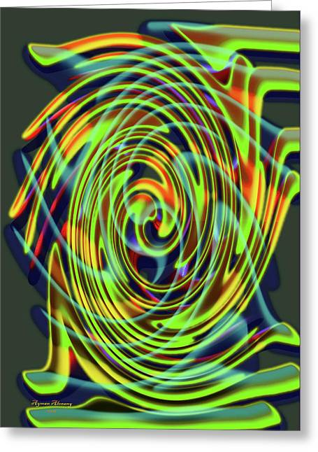 The Whirl Of Life, W5.2d Greeting Card