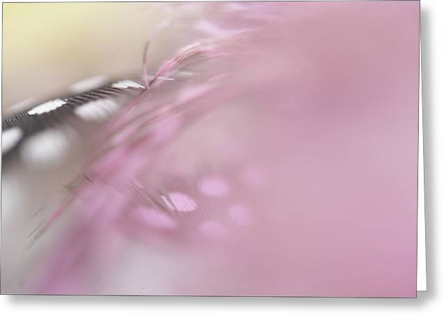 Greeting Card featuring the photograph The Whispers In The Morning. Angelic Series  by Jenny Rainbow