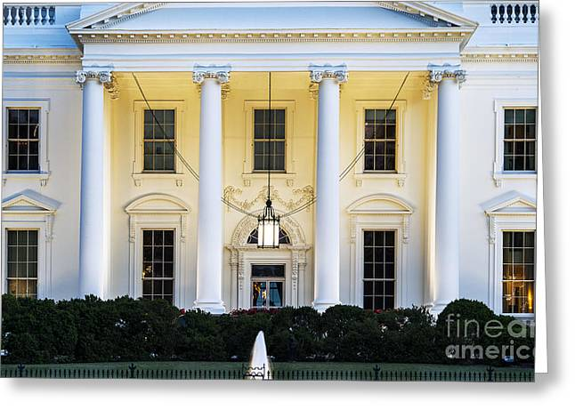 The White House Greeting Card by John Greim
