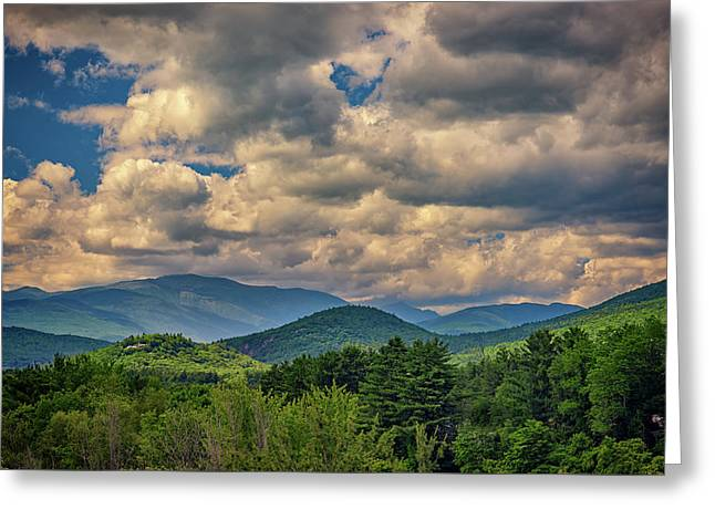Greeting Card featuring the photograph The White Mountains by Rick Berk