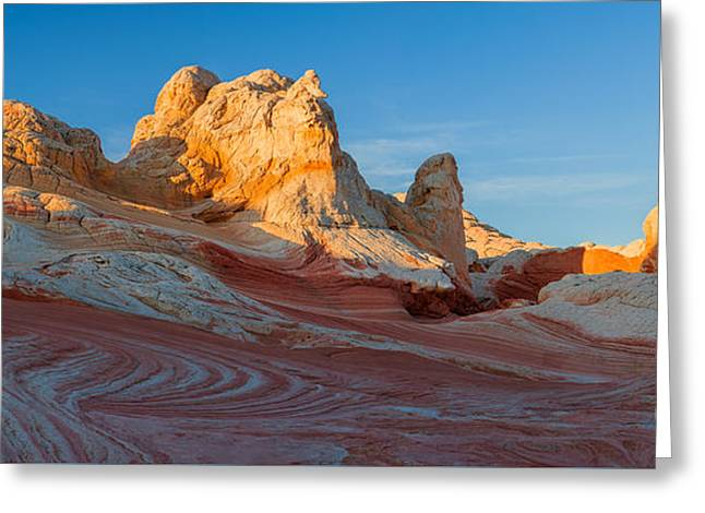 The White Pocket, Part Of The Vermillion Cliffs National Monumen Greeting Card by Henk Meijer Photography