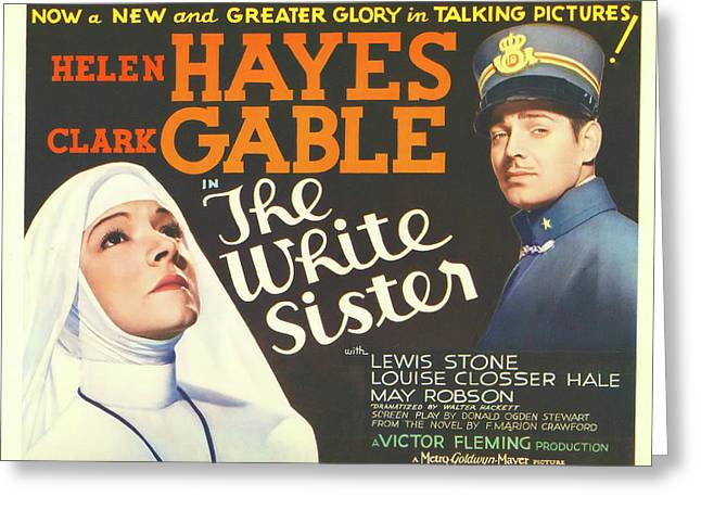 The White Sister 1933 Greeting Card