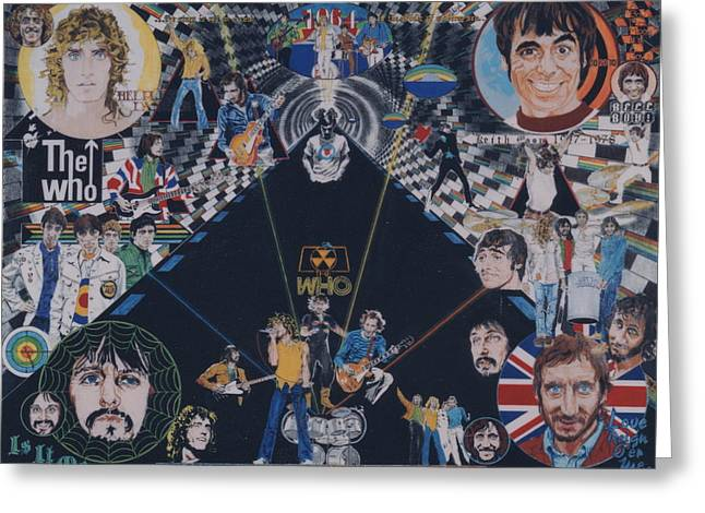 The Who - Quadrophenia Greeting Card
