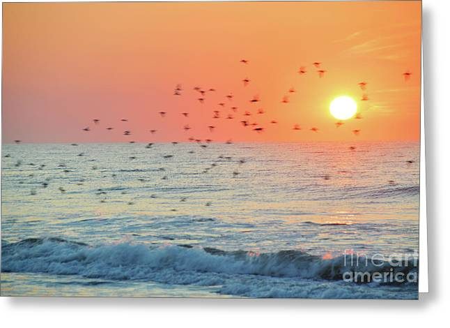 The Wind Calls My Name Greeting Card