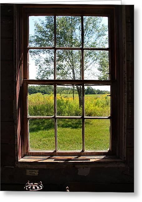 The Window  1 Greeting Card