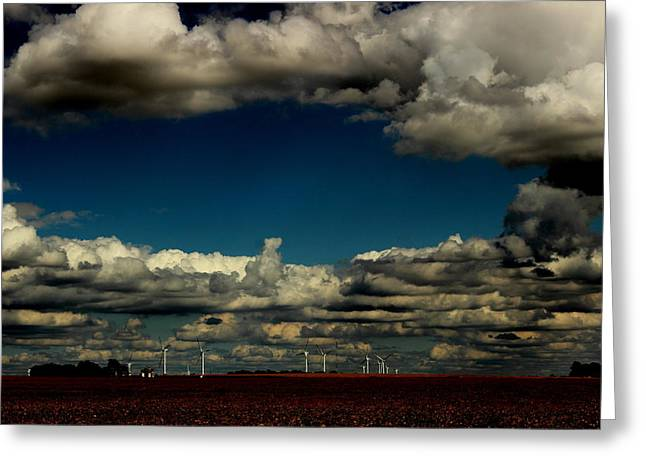 The Winds Of Change By Earl's Photography Greeting Card by Earl  Eells a