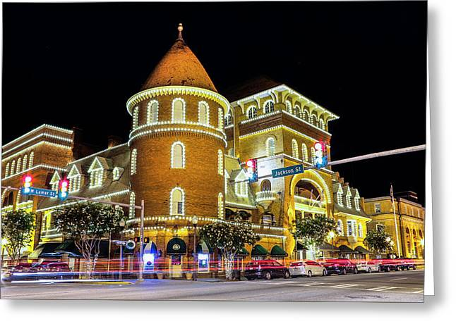 The Windsor Hotel - Americus, Ga Greeting Card
