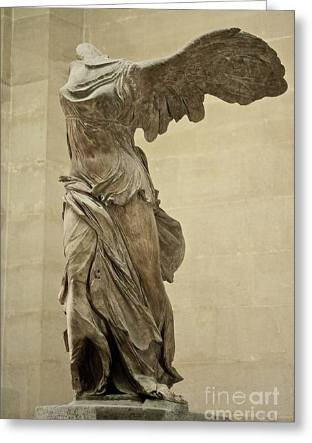 The Winged Victory Of Samothrace Greeting Card by Chris Brewington Photography LLC