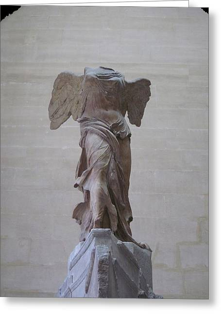 The Winged Victory Of Samothrace Number 1 Greeting Card