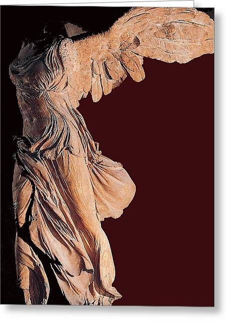The Winged Victory Of Samothrace Number 3 Greeting Card