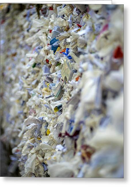 The Wishing Wall At The House Of The Virgin Mary In Ephesus Turkey Greeting Card