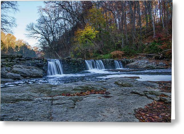 The Wissahickon Creek - Philadelphia In Autumn Greeting Card