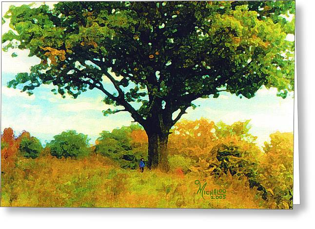 The Witness Tree Greeting Card