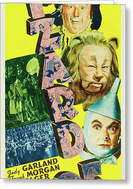 The Wizard Of Oz 1939 Greeting Card by M G M