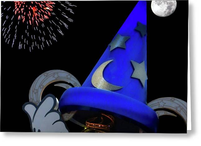 The Wizard Walt Disney World Mp Greeting Card