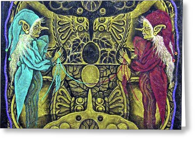 The Wngs Of Life A Painter Aria In The Devil-mirror Do You Love Me? Greeting Card