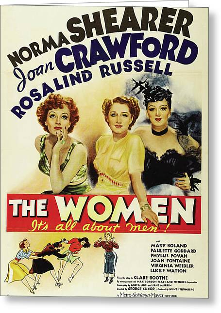 The Women - It's All About Men 1939 Greeting Card by M G M