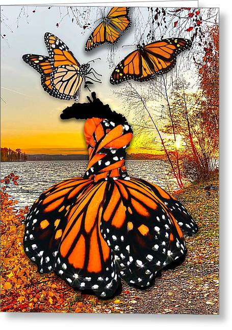 Greeting Card featuring the mixed media The Wonder Of You by Marvin Blaine