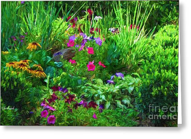 The Wonders Of A Summer Garden Greeting Card