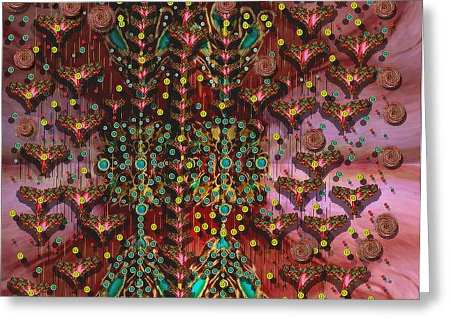 The Wood Of Paradise Greeting Card by Pepita Selles