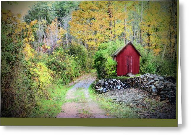 The Woodshed Greeting Card