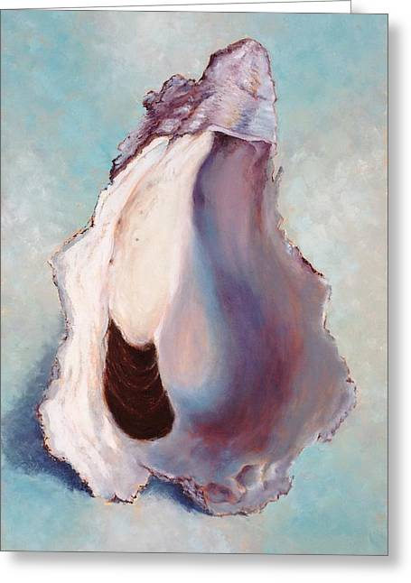 The World Is Your Oyster Greeting Card by Pam Talley