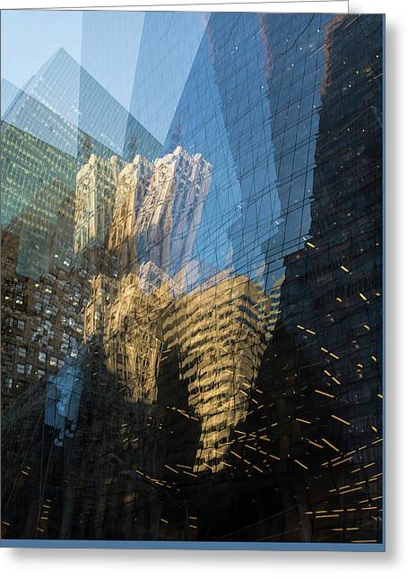 Greeting Card featuring the photograph The World Keeps Turning by Alex Lapidus
