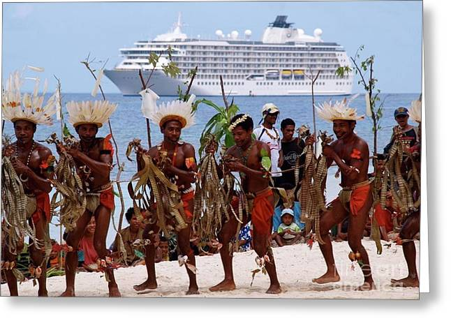 The World Kitava Papua New Guinea Greeting Card by Per Lidvall