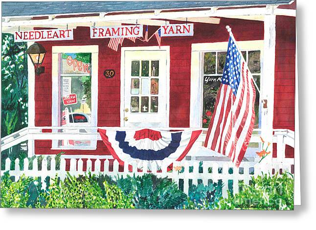The Yarn Shop Greeting Card