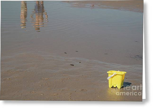 The Yellow Bucket Greeting Card